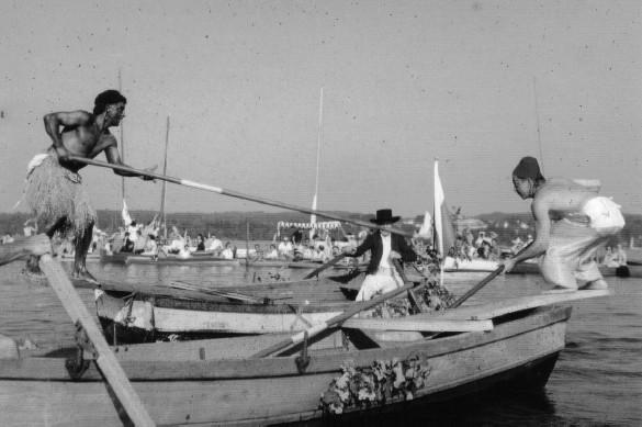 Fischerstechen - Kampfszene